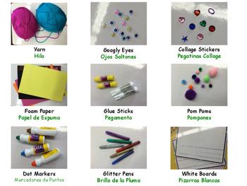 Art Center Labels (ECERS)