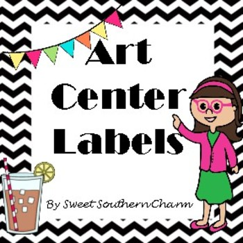 Art Center Labels from Sweet Southern Charm