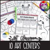 Art Centers for Elementary Students, Exploring Visual Arts