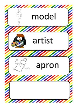 Art Centre Labels