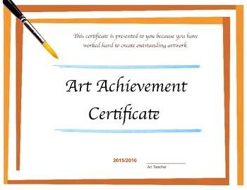 Art Certificate