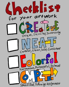 Art Checklist