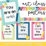 Art Class Affirmation Posters!