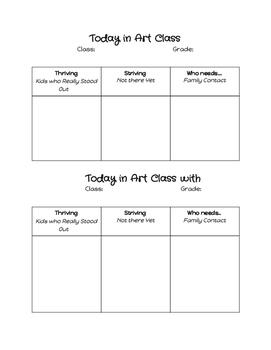 Art Class Daily Review