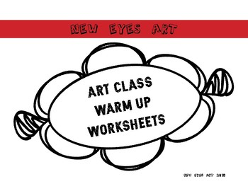 Art Class Drawing Warm Up Worksheets More Images!