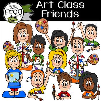 Art Class Friends - Painting