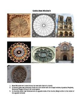 Art Class Gothic Rose Windows Teacher Notes