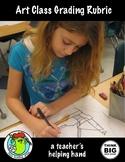 Art Class Grading Rubric