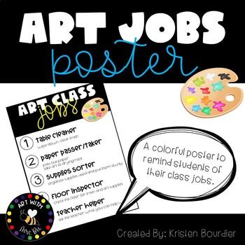 Art Class Jobs Poster