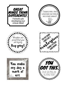 Positive Art Notes Version 2