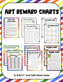 Art Class Reward Behavior Charts