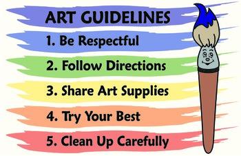 Art Class Rules: Classroom Management