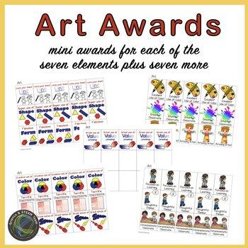 Art Class Start Up Kit for Elementary grades