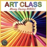 Art Class Start Up Kit for Elementary grades BUNDLE