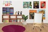 Art Classroom Bitmoji Template