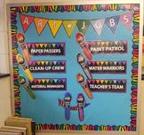 Art Classroom Decor - JOBS, REWARDS ***BUNDLE***