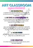 Art Classroom Expectations