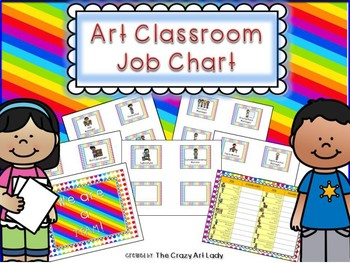 Art Classroom Job Chart
