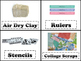 Art Classroom Labels with Pictures