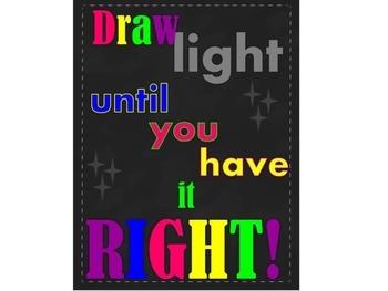 Art Classroom Poster