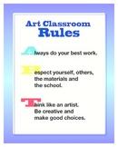 Art Classroom Rules Download
