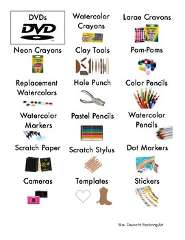 Art Classroom Supply Labels (3)