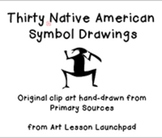 Thanksgiving Clip Art: Native American Drawings from Prima