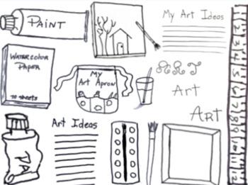 Art Clipart, Images, Add to Slide Decks, Printables, Labels. Visuals