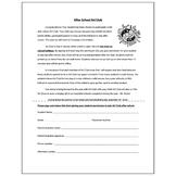 Art Club After School Permission Form - Visual Arts Club Elementary Arts Forms