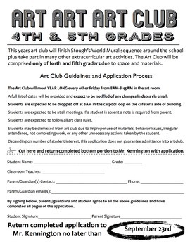 membership acceptance letter