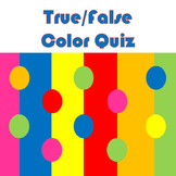 Art Color Quiz - Color Wheel