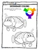 Art Color Theory: Primary & Secondary Color + Brown Worksheets