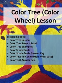 Art - Color Tree (Color Wheel) lesson