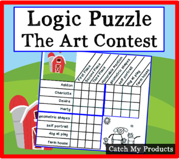 Logic Puzzle - Art Contest (Critical Thinking Challenge For Bright Students)