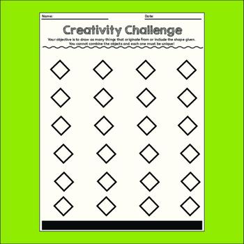 Creativity Challenges, Art Lessons #2