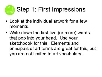 Art Criticism In Six Easy Steps