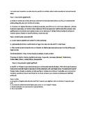 Art Criticism Process Handout en Espanol