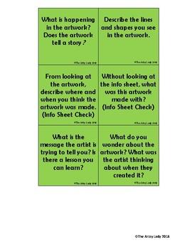 Art Critique Board Game