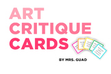 Art Critique Cards