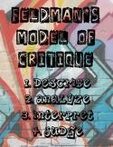 Art Critique Poste // Feldman's Model // Describe, Analyze