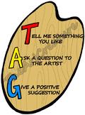 Art Critique Poster - T.A.G.