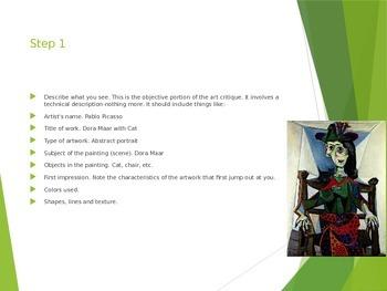 Art Critique Powerpoint