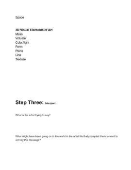 Art Critique process