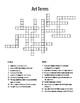 Art Crosswords