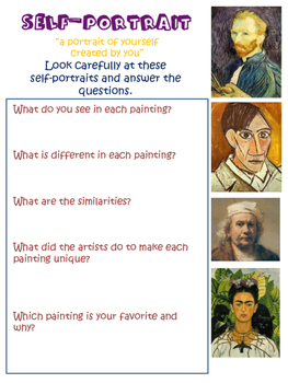 Art Lessons: Year Curriculum with Art, Visual Thinking and Projects