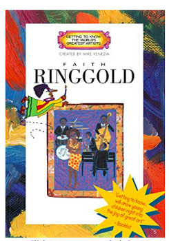 Art DVD - Getting to Know Faith Ringgold- Mike Venezia - Art Room DVD Resource