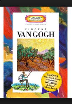 Art DVD - Getting to Know Vincent Van Gogh - Mike Venezia - Art Room DVD Resourc