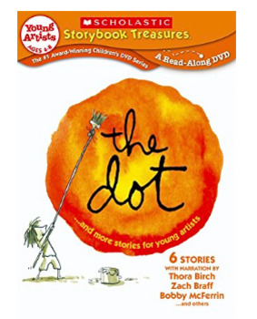 Art DVD - The Dot - by Peter Reynolds - Scholastic Video Collection