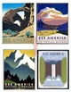 Art Deco 1930s, 28 High Resolution WPA Posters Instant Download