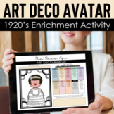 Art Deco Avatar: 1920's Style, Fashion History, and Hook f
